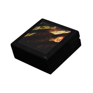 Grungy Tough Textured Keepsake Box