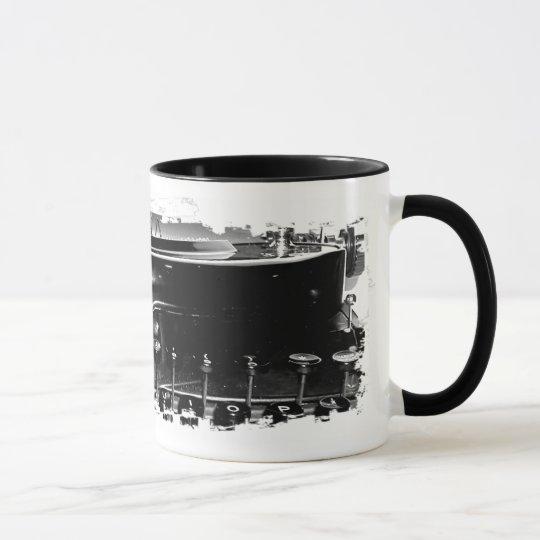 Grungy Typewriter Mug