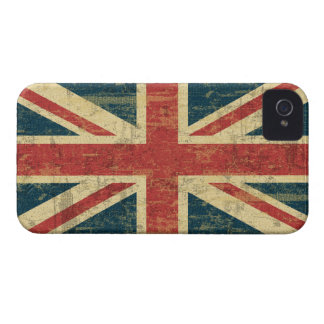 Grungy Union Jack Case-Mate iPhone 4 Case