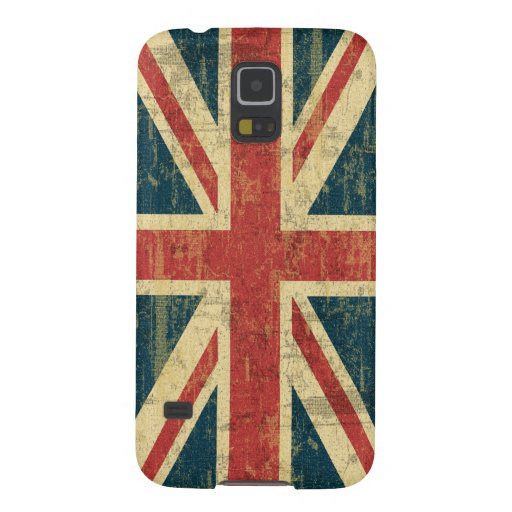 Grungy Union Jack Case For Galaxy S5