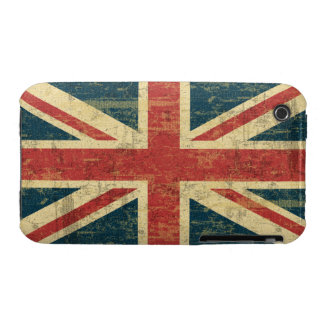 Grungy Union Jack iPhone 3 Case