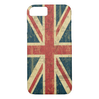 Grungy Union Jack iPhone 7 Case