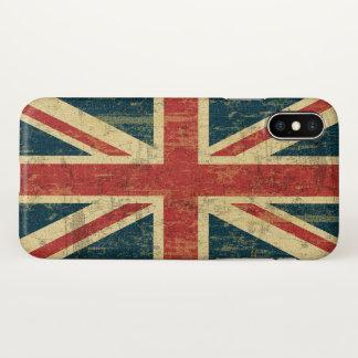 Grungy Union Jack iPhone X Case