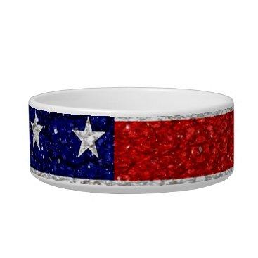 USA Themed Grungy Usa Flag Bowl