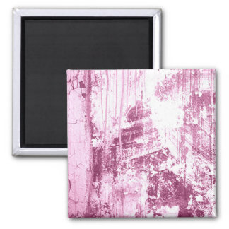 Grungy wall,pink refrigerator magnets