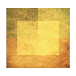grungy watercolor-like graphic abstract 2 stretched canvas print