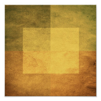 grungy watercolor-like graphic abstract 2 print