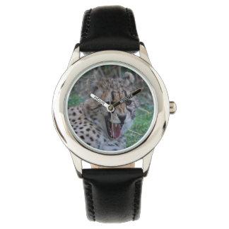 Gruñido del guepardo relojes