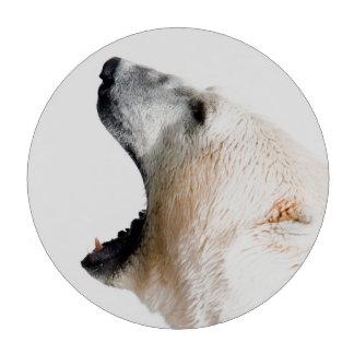 Gruñido del oso polar fichas de póquer