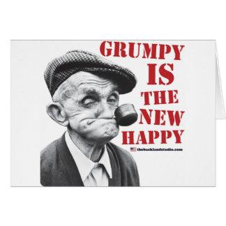 Gruñón es el nuevo feliz tarjeta
