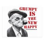 Gruñón es el nuevo feliz tarjetas postales