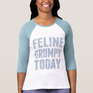 Gruñón felino hoy camisetas