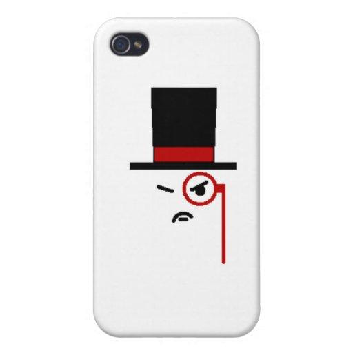 Gruñón iPhone 4 Carcasas
