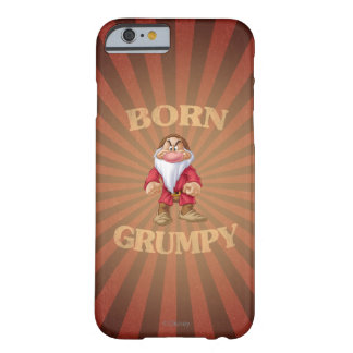 Gruñón nacido funda para iPhone 6 barely there