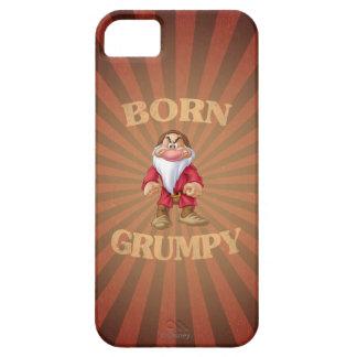 Gruñón nacido iPhone 5 carcasas