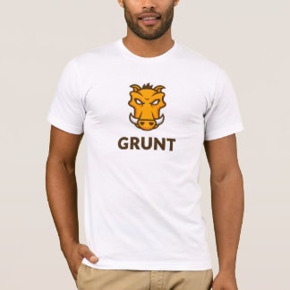 Grunt JS T-Shirt (White)