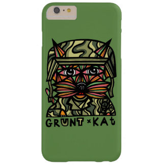 """Grunt Kat"" Apple & Samsung Phone Case"