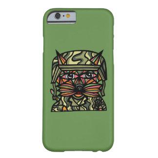 """Grunt Kat"" Glossy Phone Case"