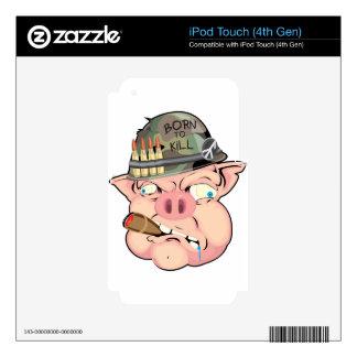 GRUNT PIG iPod TOUCH 4G SKIN