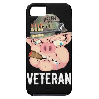 """GRUNT PIG """"VETERAN"""" Iphone 5 Case"""