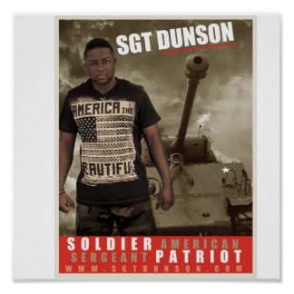 Grunt STYLE POSTER SGT DUNSON