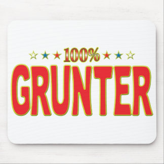 Grunter Star Tag Mouse Pad