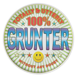Grunter Totally Plates