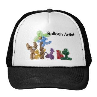grupo animal del globo, artista del globo gorras de camionero