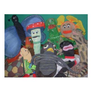 Grupo Artístico Yoruva Tarjeta Postal 2 Postcard