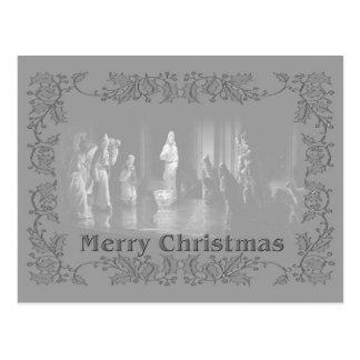 Grupo b/w del navidad tarjetas postales