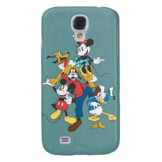 Grupo clásico de Mickey y de los amigos el | Funda Para Galaxy S4