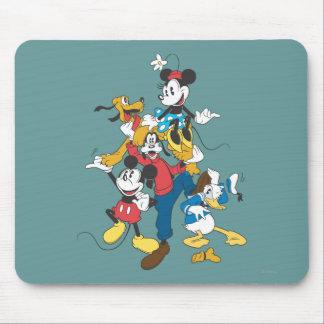 Grupo clásico de Mickey y de los amigos el | Tapetes De Raton