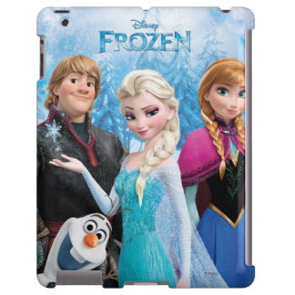 Grupo congelado funda para iPad