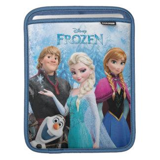 Grupo congelado manga de iPad