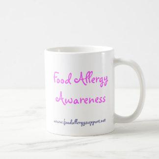 Grupo de ayuda de la alergia alimentaria de taza