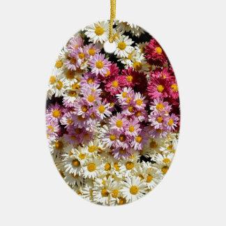 Grupo de crisantemos ornaments para arbol de navidad