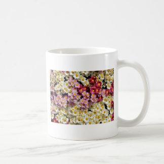 Grupo de crisantemos taza clásica