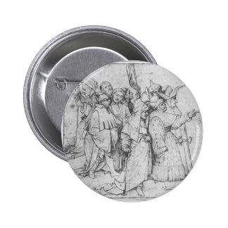 Grupo de figuras masculinas de Hieronymus Bosch Pin