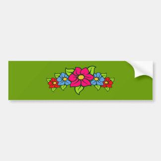 Grupo de flor guirnalda flowers garland pegatina de parachoque