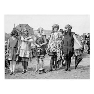 Grupo de ganadores 1922 tarjetas postales