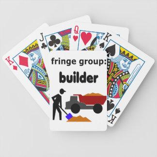 grupo de la franja: constructor baraja de cartas