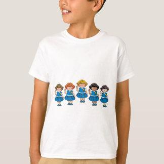 Grupo de la margarita camisas