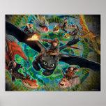 Grupo de los jinetes del dragón impresiones