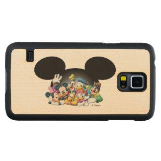 Grupo de Mickey y de los amigos el | en los oídos Funda De Galaxy S5 Slim Arce