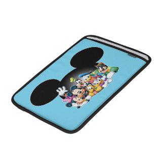 Grupo de Mickey y de los amigos el | en los oídos Funda Macbook Air