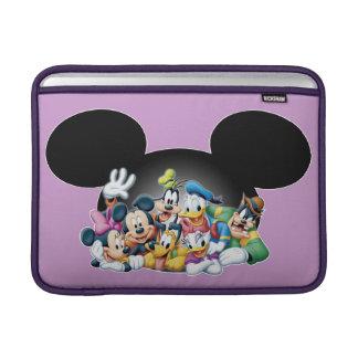 Grupo de Mickey y de los amigos el | en los oídos Funda Para Macbook Air
