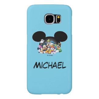 Grupo de Mickey y de los amigos el | en los oídos Funda Samsung Galaxy S6