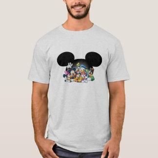Grupo de Mickey y de los amigos el | en los oídos Playera