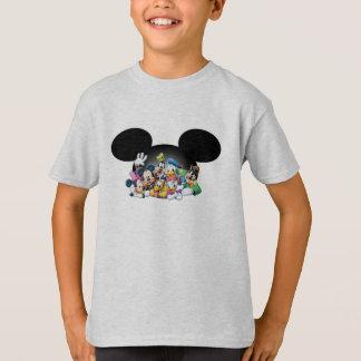 Grupo de Mickey y de los amigos el | en los oídos Playeras