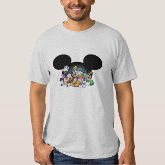 Grupo de Mickey y de los amigos el | en los oídos Polera